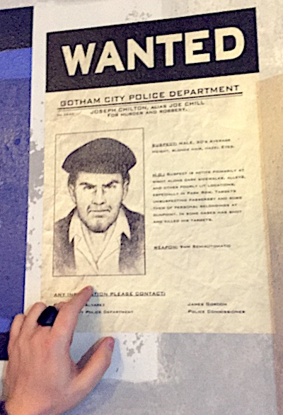 Wanted poster