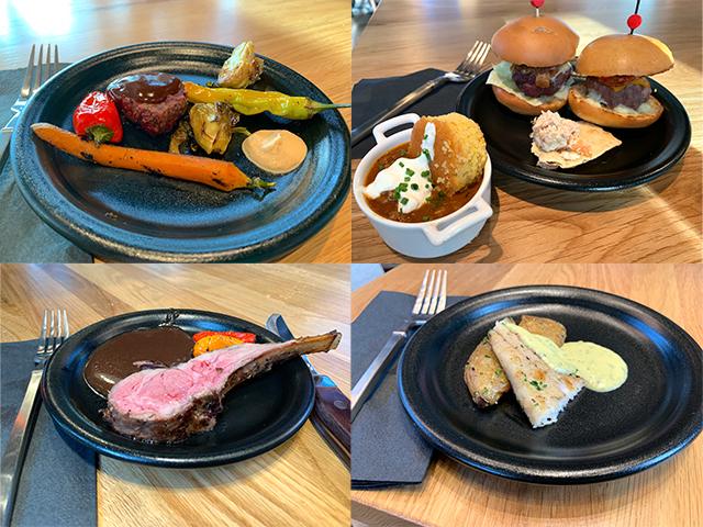 Samples of the Bigfire menu