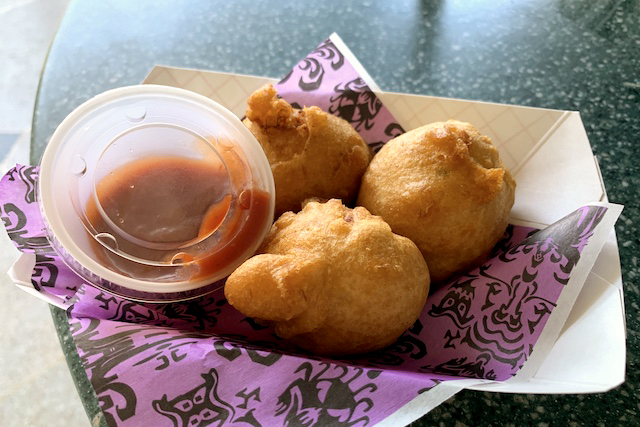 Blue Lump Crab Fritters