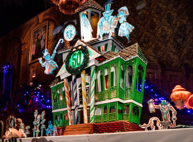 Haunted Mansion Holiday gingerbread house