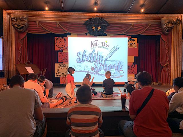 Knott's Sketch School
