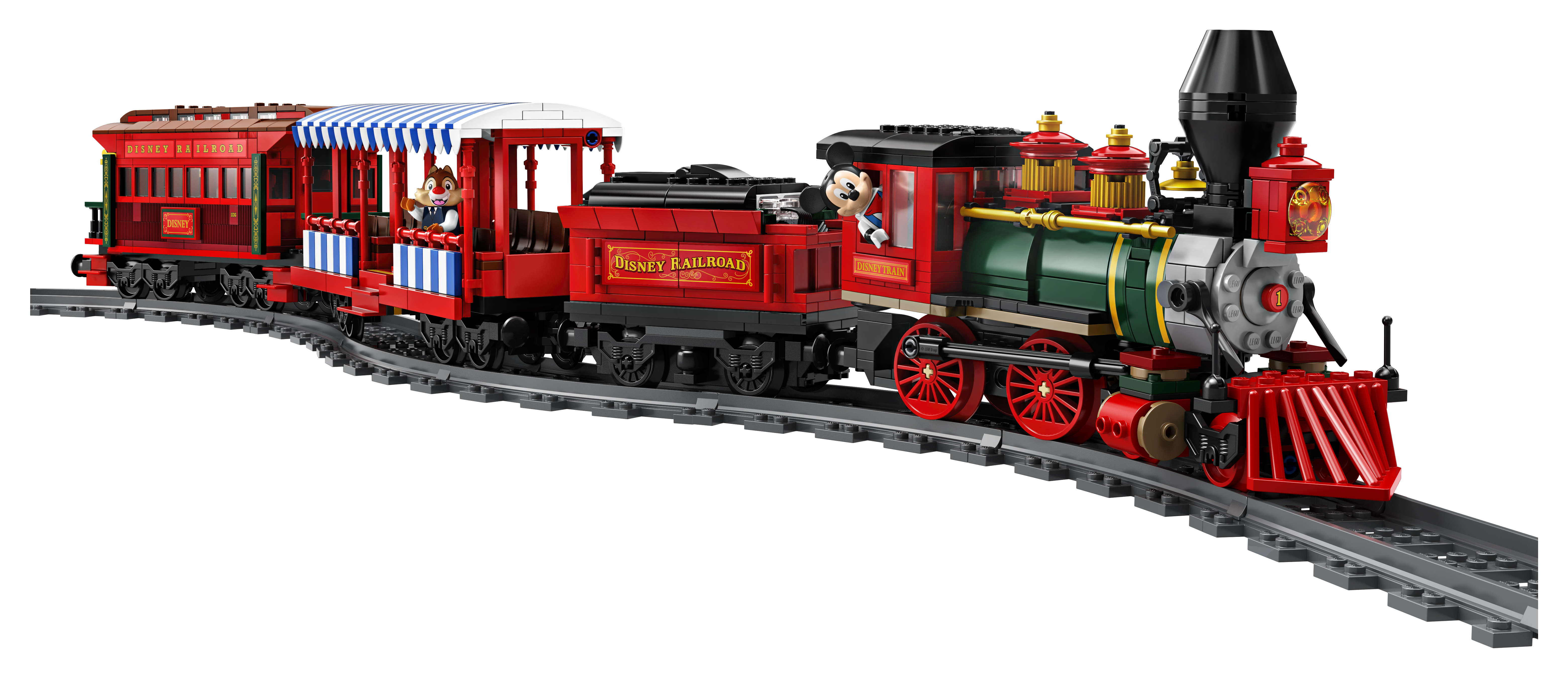Ride the rails with this new Disneyland Lego train set