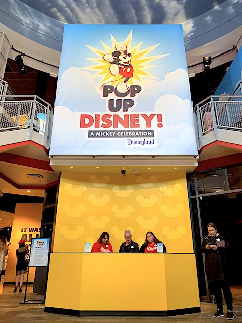 Pop Up Disney - A Mickey Celebration