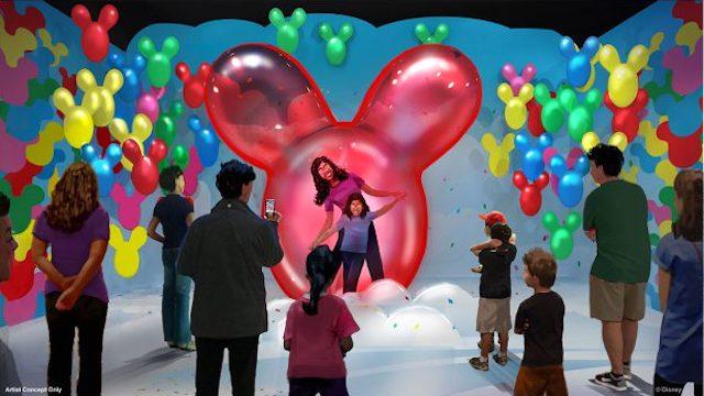 Pop Up Mickey, Balloons