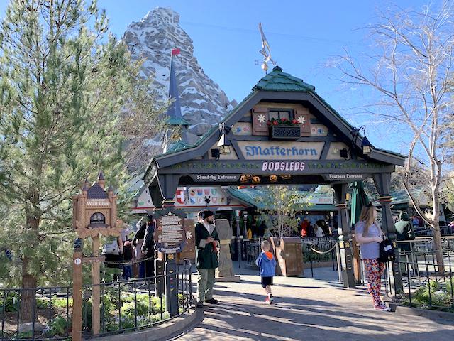 Matterhorn entrance
