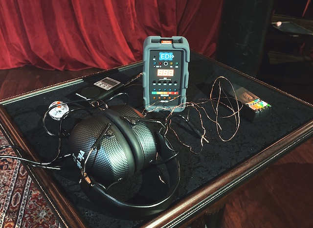 Equipment for a ghost hunt