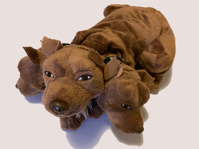 Fluffy puppet