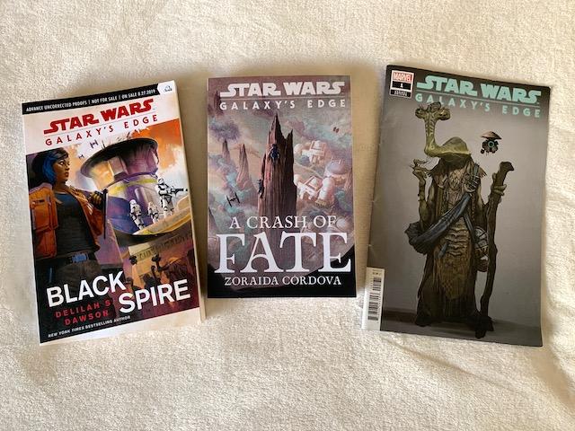 Star Wars Galaxy's Edge books