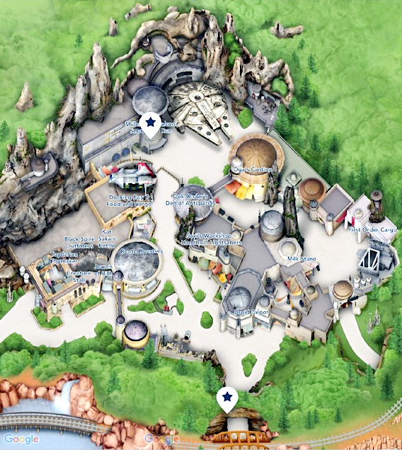 Galaxy's Edge map