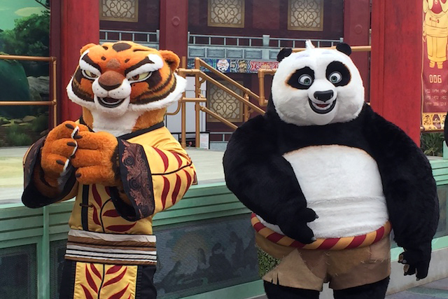 Tigress and Po for Lunar New Year