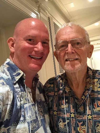 Peter Wilson and Jim Christensen