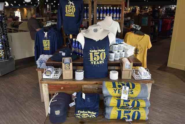 Cedar Point 150 merchandise
