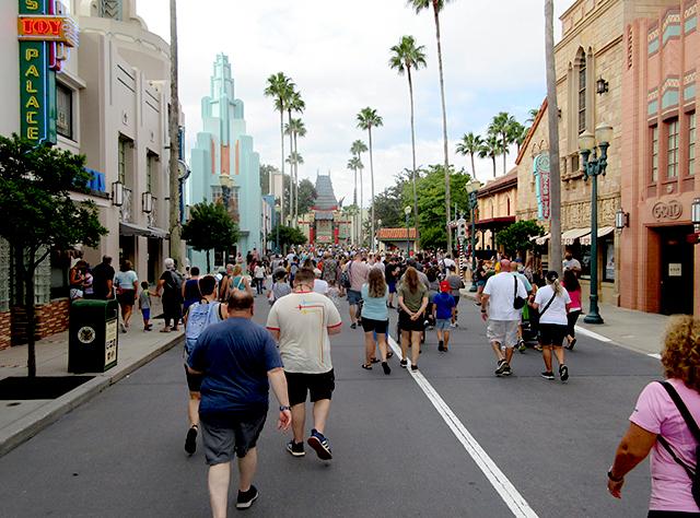 Disney's Hollywood Studios at opening