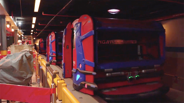 Spider-Man ride vehicle