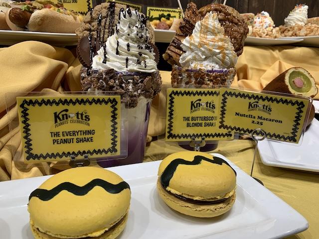Peanuts Celebration treats