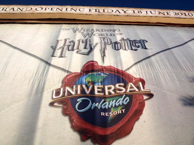 Hogwarts envelope banner