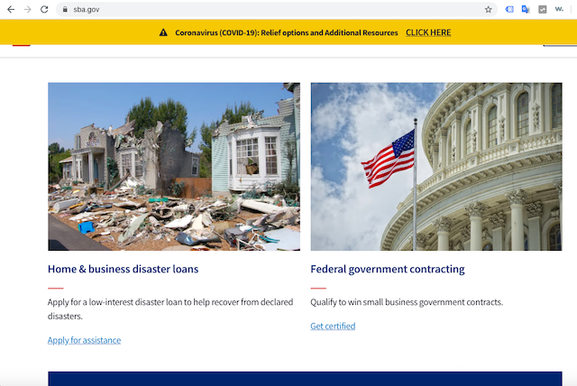 US Government Uses Theme Park Photo on Disaster Website