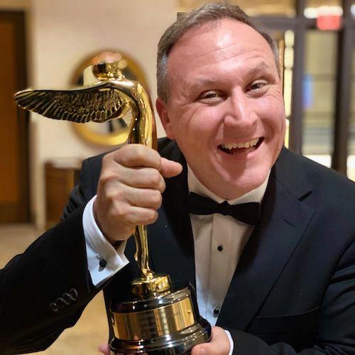 Scott Trowbridge and award