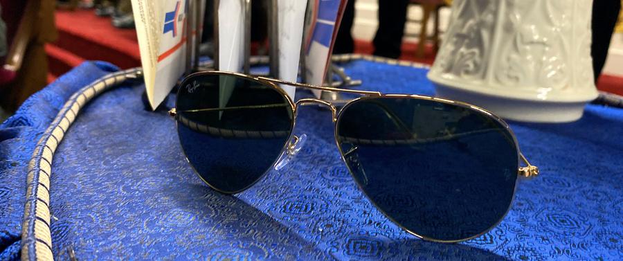 President Biden's sunglasses