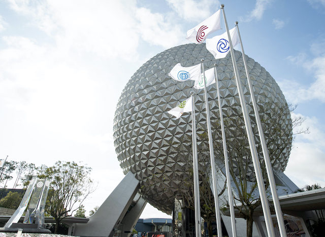 Epcot flags