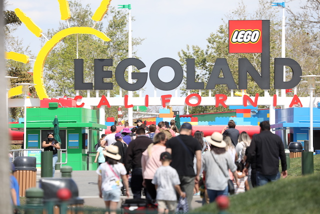 Legoland reopening