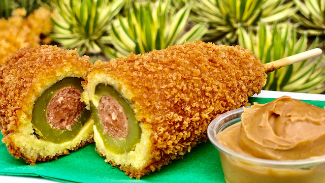 Pickle Corn Dog