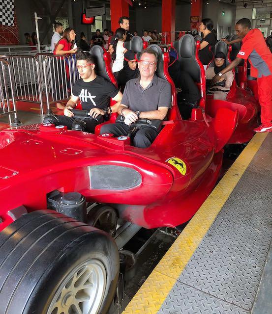 On board Formula Rossa