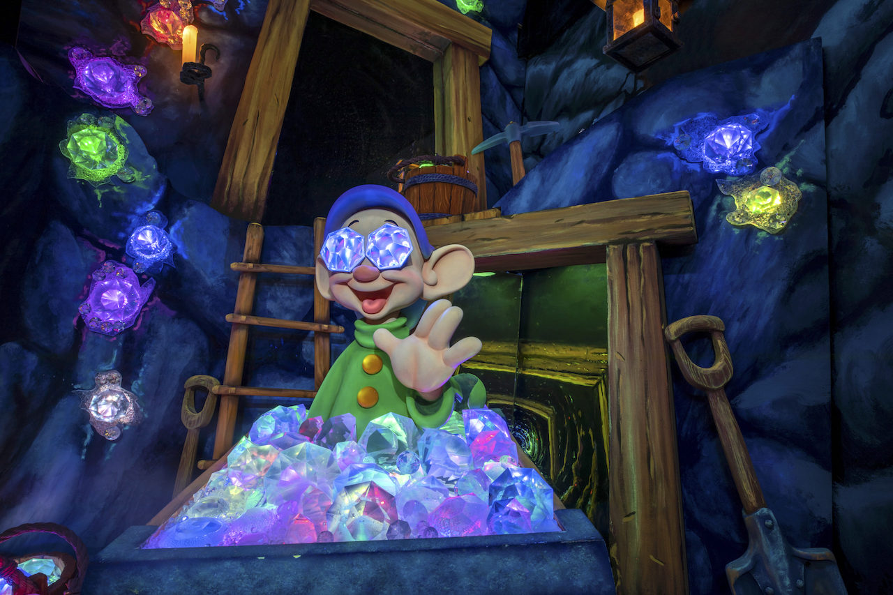 Dopey in the mine