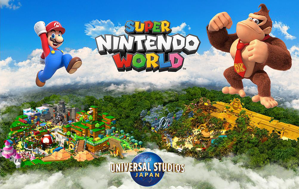 Donkey Kong at Universal Studios Japan