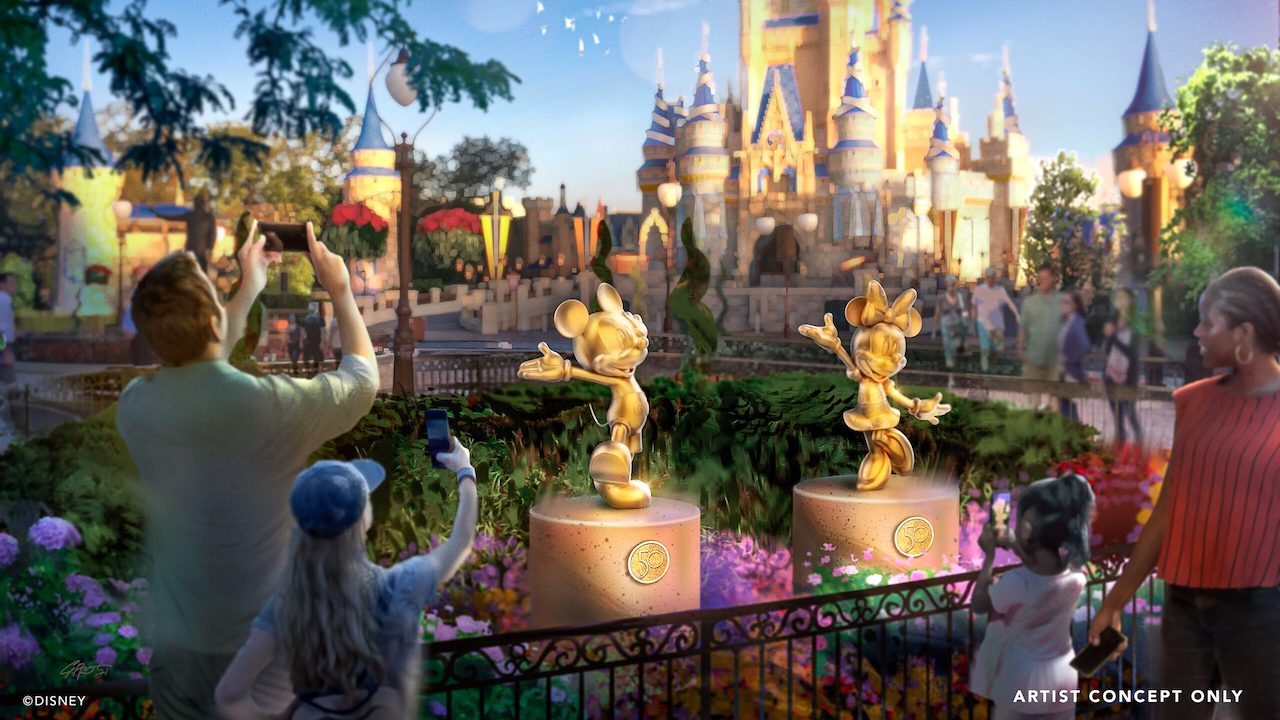 Disney Fab 50 Character Sculptures