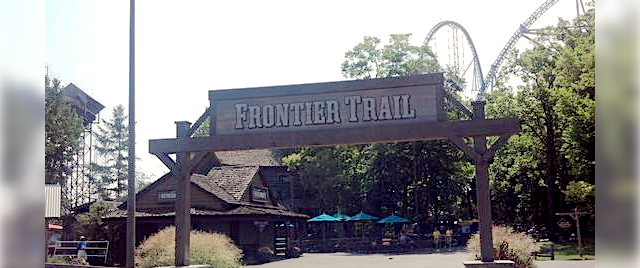 Let's Take a Walk Down Cedar Point's Frontier Trail