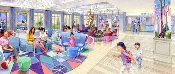 Tokyo Disney Resort Announces its Fourth Hotel, to Open Next Year