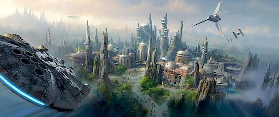 Disney Will Break Ground on Star Wars Land Next Year