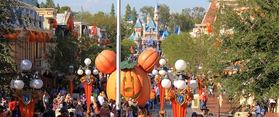 It's a Hot Time in Disneyland at Mickey's Halloween Party