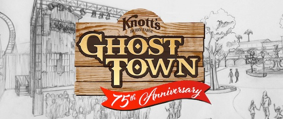 Knott's Announces 75th Anniversary Plans, Including Great Coasters International Rebuild for Ghostrider