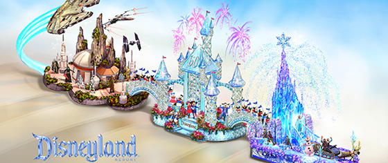Disneyland Returns to the Rose Parade with Star Wars, Frozen