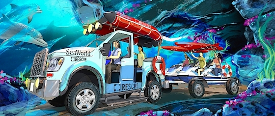 SeaWorld Previews 'Rescue' Rides, New Hotels