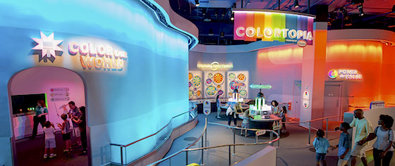 Colortopia Exhibit Opens in Epcot's Innoventions