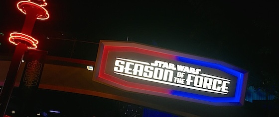 Season of the Force Debuts to Packed Crowds at Disneyland