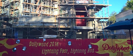 Take an Early Ride on Dollywood's New Wooden Launch Coaster, Lightning Rod