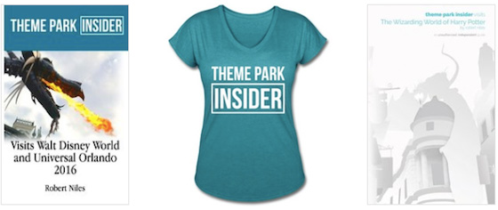 The New Theme Park Insider Guidebook and Shirts are Here!