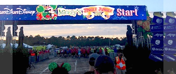 The Holidays Get off to a Running Start at Disney's Jingle Jungle 5k