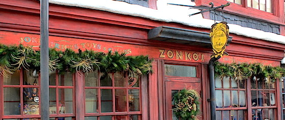 On the Road to the Wizarding World Hollywood: Zonko's Joke Shop