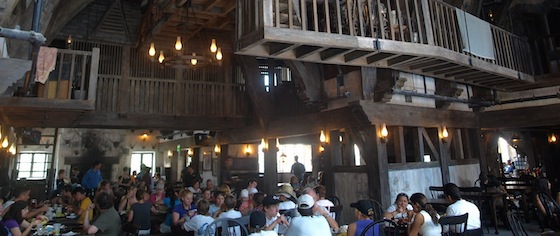 On the Road to the Wizarding World Hollywood: The Three Broomsticks