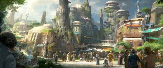 Will the Force Awaken in Disney's Star Wars Land, Too?