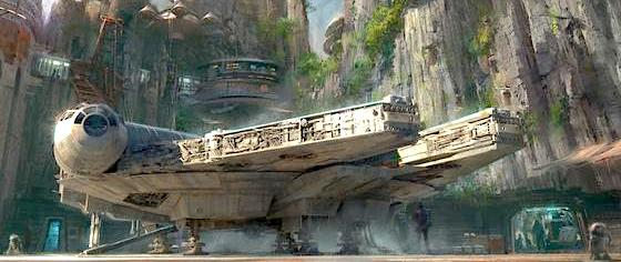 Will the Force Awaken in Disney's Star Wars Land? Looking Forward to the New Rides