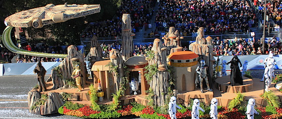 Disneyland's Float Highlights the 2016 Rose Parade