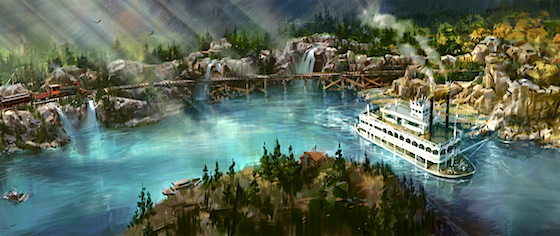 Disneyland Releases New Rivers of America Concept Art