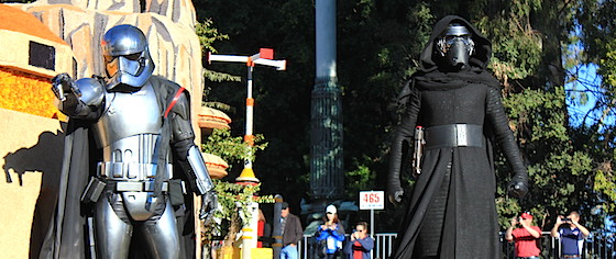 Kylo Ren is Going to Disneyland... and Walt Disney World