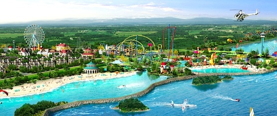 Six Flags Breaks Ground for its First Theme Park in China